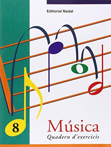 MUSICA 8 QUADERN EXERCICIS EP CATALAN (Musica Exercicis EP)