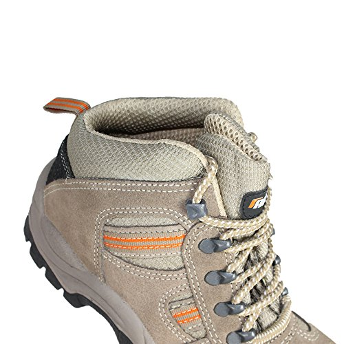 Auda Aigoual S1P src Chaussures de trekking Chaussures de sécurité haute Beige Beige - Beige