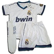 Equipación Completa Infantil Oficial del Real Madrid (Talla 2)