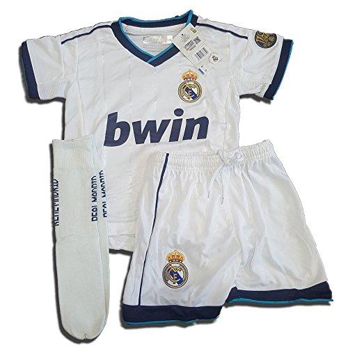 Equipación Completa Infantil Oficial del Real Madrid