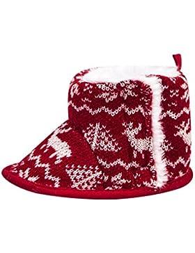 Clode® Neugeborenen Jungen Mädchen Weihnachten Deer Krippe Schuhe Weiche Sohle rutschfeste Turnschuhe