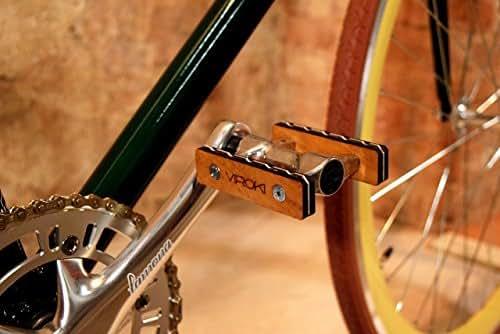 Iroko Bike Accessories Wooden Bike Pedals Bike Parts Amazon