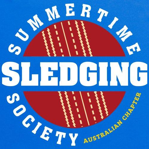 Australian Sledging Society T-Shirt, Damen Royalblau
