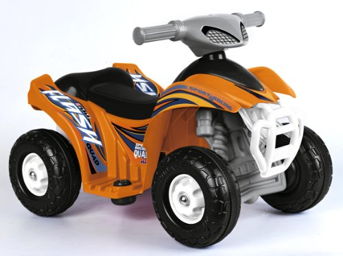 Feber Quad FLASH - Coche eléctrico motorizado para niños, 6 V (Famosa 800007386)