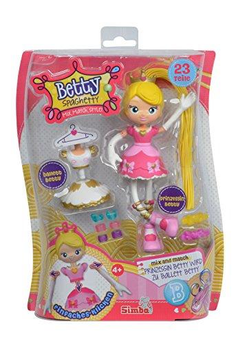 Simba 109281000PRI – Betty Spaghetti Puppe Prinzessin/Balletttänzerin