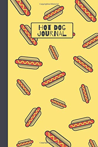 Hot Dog Journal: Cute Lined Notebook for Kids -