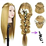 68,6 cm testa di manichino per parrucchiere parrucca manichino da parrucchiere manichino Doll capi synthetic Hair styling manichini training