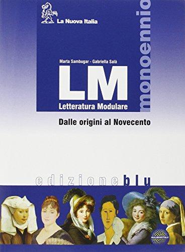 LM. Con guida alla scrittura e all'esame di qualifica. Ediz. blu. Per gli Ist. professionali