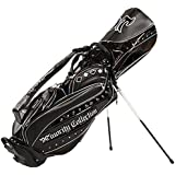 Minority Collection (Minority Collection) Caddy Bag MC-AGAIN MC-AGAIN Stand Caddy Back 10601-22 Black 9