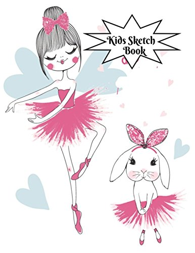 Kids Sketch Book: Childrens Extra Large Blank Notebook Journal For Doodling Drawing Sketching Scribbling Writing and More (Kids Sketchbook Collections, Band 69) (Supply Art Ultimate Kit)