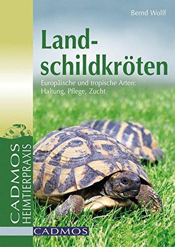 Landschildkröten: Europäische und tropische Arten: Haltung, Pflege, Zucht (Cadmos Heimtierpraxis)