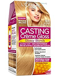 Casting Crème Gloss Ton sur Ton Coloration sans Ammoniaque 931 Blond Chantilly