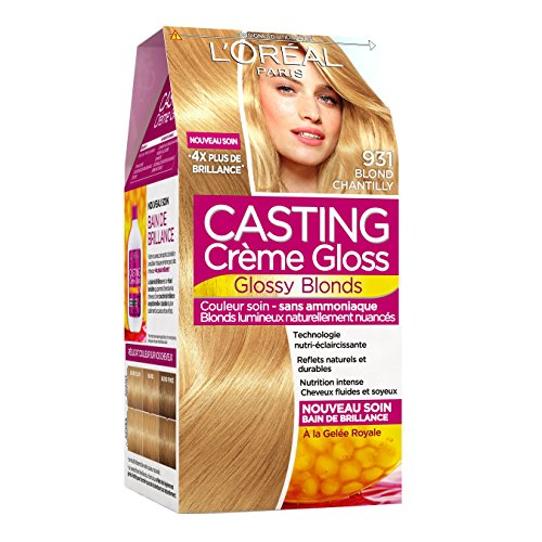 casting crme gloss ton sur ton coloration sans ammoniaque 931 blond chantilly - Coloration Casting