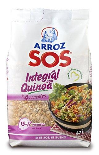 Arroz SOS Integral Con Quinoa + 4 Cereales 500G - [Pack De 10] - Total