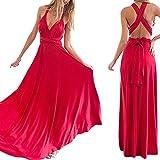 Clothing : Womens Sexy Bridesmaid Long Evening Dress Floor-length Multiway Bandage Maxi Dresses