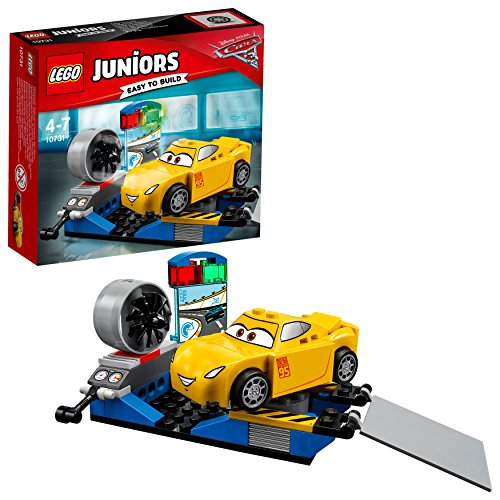 LEGO Juniors 10731 - Cruz Ramirez Rennsimulator, Disney Autos (Disney Cars Lego-sets)