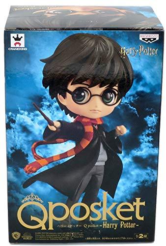 Qposket - Banpresto Figura de Colección de Harry Potter Chaqueta Negra Versión A 14cm Hogwarts Magia Varita Mágica… 2