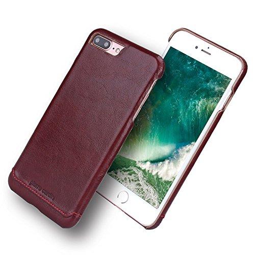 iPhone 7 Custodia, Pierre Cardin Custodia rigida con copertina nera sottile Premium di Lusso in autentica Case Cover per iPhone 7 4,7 Pollici - Rosso Rosso