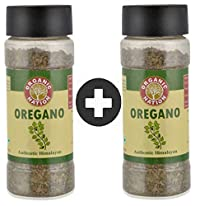 Organic Nation Oregano Imported Pure Herb 100% Pure & Natural Pack of 2