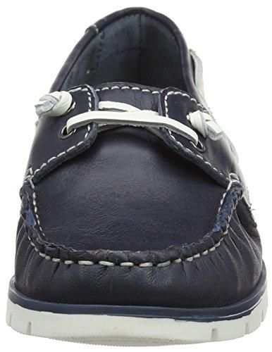 Lotus Silverio, Chaussures Bateau Femme Bleu Marine
