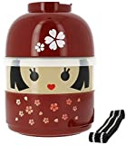 Japanese Sakura Girl Lunch Bento Box #50617 (japan import)