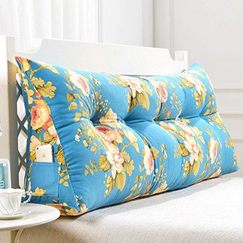 HSMM Dreieckiger Keil Kissen,lesen Kopfkissen,einstellbare Flip Kissen,Kissen Double Abnehmbare Tatami Schlafzimmer-g 180x50x20cm(71x20x8) -