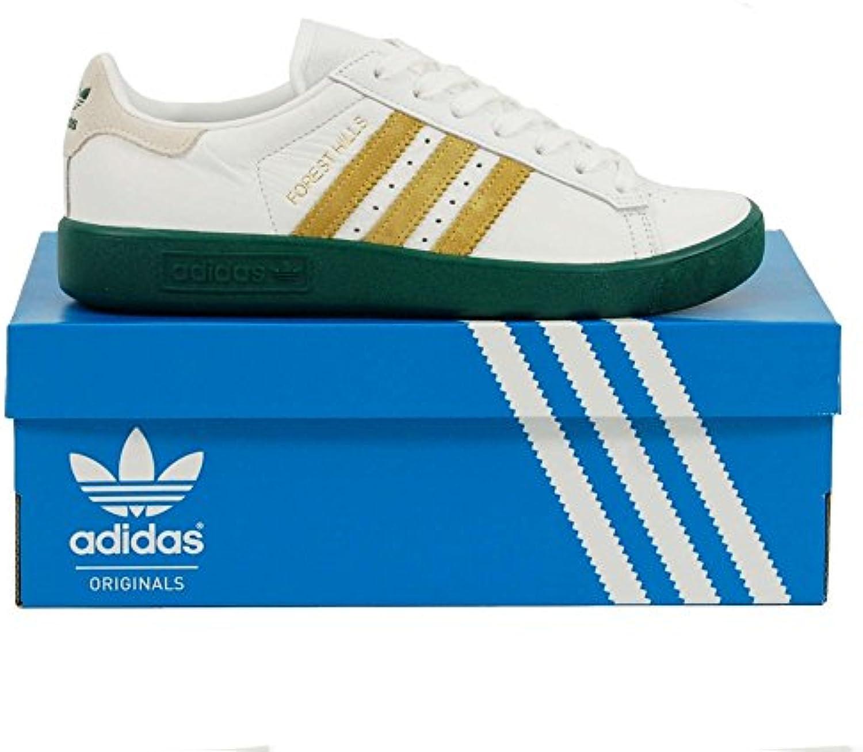 adidas Forest Hills Weiß/Grün  Billig und erschwinglich Im Verkauf