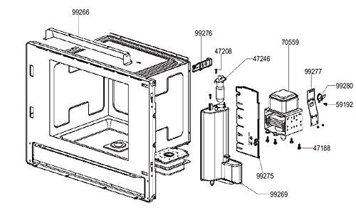 Smeg - Module De Puissance Rep 99275-811652128 Pour Micro Ondes