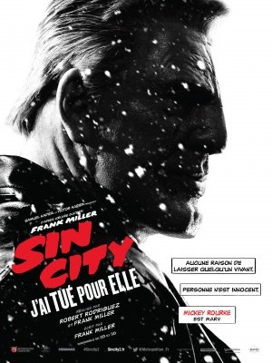 SIN CITY : A DAME TO KILL FOR – Mickey Rourke – French Imported Movie Wall Poster Print – 30CM X 43CM (Dame Sin Dvd City Für Kill To)