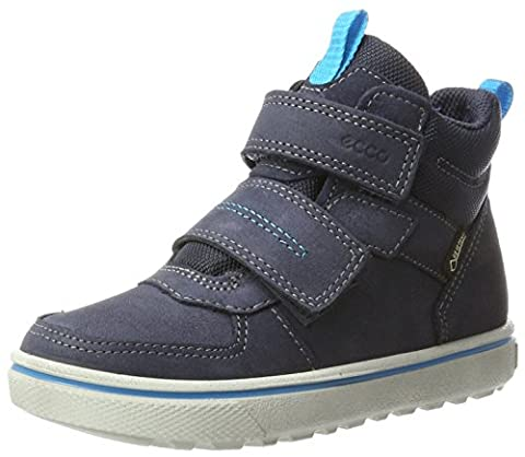 Ecco Jungen Glyder Hohe Sneaker, Blau (Marine), 27 EU