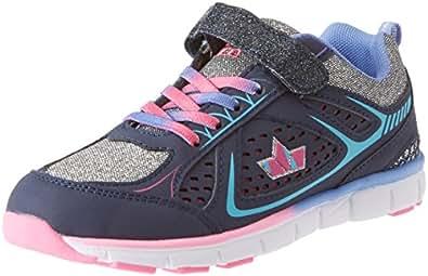 Lico Mädchen Rainbow Vs Sneaker, Blau (Marine/Lila/Silber), 34 EU
