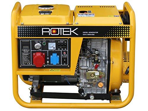 Rotek Diesel Stromerzeuger GD4-3-6000-EBZ - 2