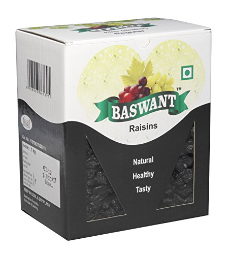 7. Baswant Jumbo Black Seedless Raisins