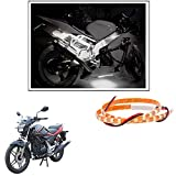 #9: 2 Pc. Vheelocityin 45 cm Waterproof Flexible Tube Strip Light Motorcycle LED Light - White For Hero Motocorp Xtreme Sports