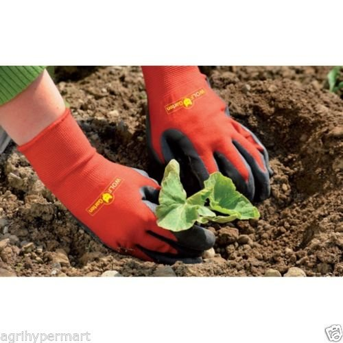 WOLF GARTEN Soil Care Garden Gloves GH-BO7 Small Size
