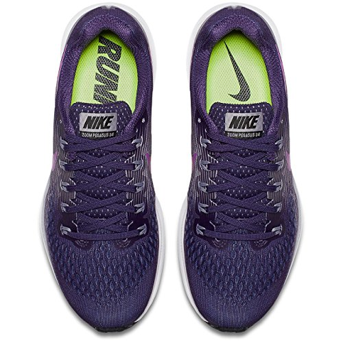 Nike Wmns Air Zoom Pegasus 34, Chaussures de Running Femme Violet