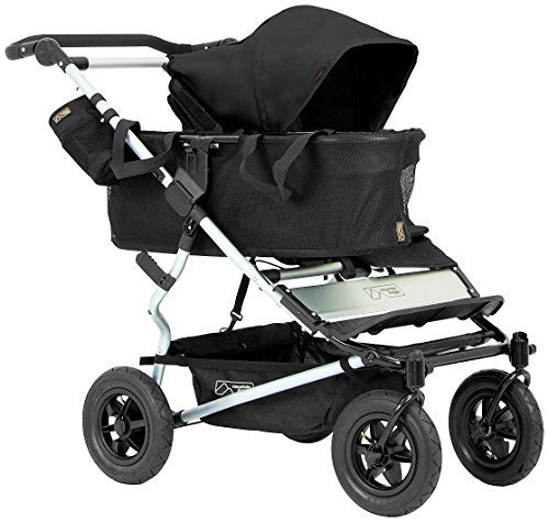 Mountain Buggy Joey Storage with Tote Bags for Duet Double Stroller, Black by Mountain Buggy