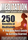 MEDITATION: WHY OVER HOW: 250 Benefits of Meditation & The Quickest Guide to Getting Started