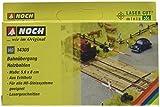 Noch 14305 - Laser-Cut Bahnübergang Holzbohlen
