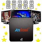 TV BOX 5G ANDOWL 4K Q-M6 DUAL BAND SMART ANDROID 8.1 32 GB ROM 4GB RAM