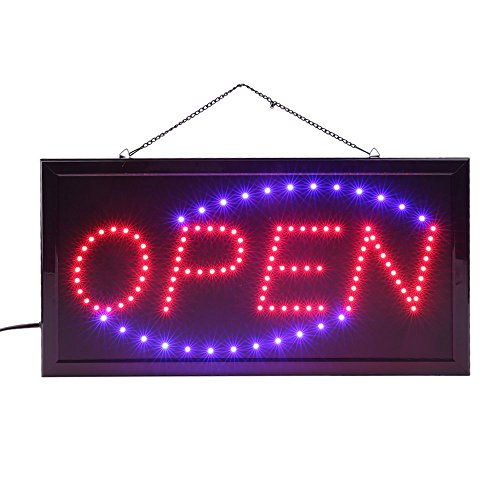 48cm x 25cm x 2cm LED Leuchtreklame Schild, Leucht-Schild, leuchtstark