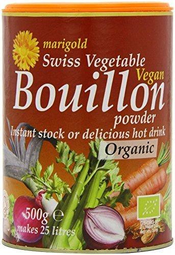 Marigold - Organic Swiss Vegetable Vegan Bouillon Powder - 500g - Drink, Bio Hot