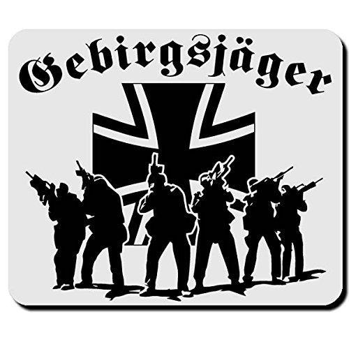 Gebirgsjäger Elite Einheit Bundeswehr BW Bund GebJg - Mauspad Mousepad #2634