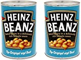 #6: Heinz Baked Beanz in Tomato Sauce, 415g Pack of 2