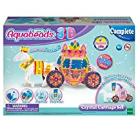 Aquabeads 31363 3D Crystal Carriage Set, Colourful