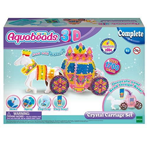 "Aquabeads 31363 3D Bastelset \""Pferdekutsche\"", Kinder Bastelset"