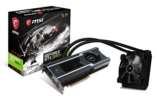 MSI NVIDIA GeForce GTX 1080Ti SEA HAWK X 11 GB