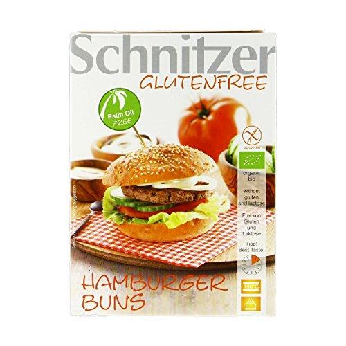 Schnitzer - Pains Burgers sans gluten 125G Bio - Livraison Gratuite pour les commandes en France - Prix Par Unité
