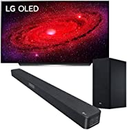 LG OLED TV AI ThinQ OLED55CX6LA.APID, Smart TV 55'', Processore α9 Gen3 con Dolby Vision IQ / Dolby At