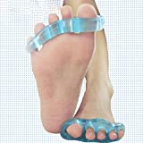 HuaYang Soft Silicone Gel Toes Hallux Valgus Corrector Separator Orthosis Stretcher Aligner Bunion(Size: Small) by HuaYang